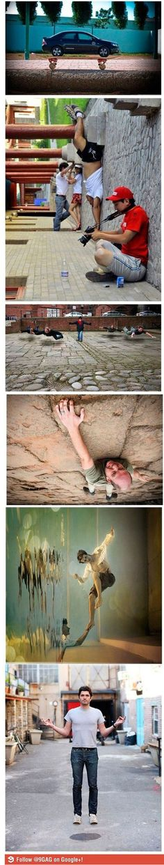 optical illusions / forced perspective