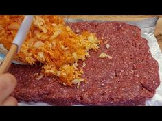 rețetă simplă și gustoasă de carne tocată pentru o masă festivă # 207 - YouTube