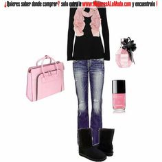 Combinaciones con negro y rosado
