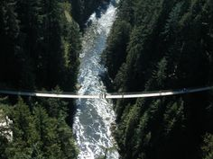 I am very afraid of heights but this looks like an awesome bridge: Capilano Suspension Bridge to visit in Vancouver.