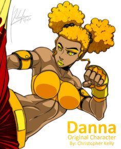 "My interpretation of 's Original Character ""Danna"" Still have a few little edits to make here and there but for the most part it's finished. Im on a rol. Danna Close Up Black Love Artwork, Black Art Pictures, Black Girl Art, Black Women Art, Female Character Design, Character Art, Drawings Of Black Girls, Hulk Art, Fighting Poses"