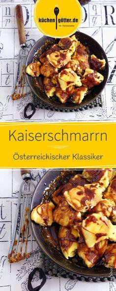 Österreichischer Klassiker so schlicht und dennoch köstlich, wie man es kennt. Der luftige Kaiserschmarrn geht so einfach und schmeckt einfach lecker! Das Rezept findet ihr hier.