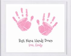 Items similar to Baby Footprint Art, Forever Prints hand and footprint keepsake for kids or baby. Mother's Day, New Mom, Nursery Art Baby In loving memory. on Etsy Reindeer Handprint, Handprint Art, Baby Footprint Art, Footprint Crafts, Diy Kit, Birth Records, Birth Announcement Girl, Baby Footprints, Simple Prints