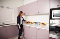 Tambortech Door Secret Splashback Pantry Cupboard - kitchen pantry organisation solution. Not roller doors or roller shutters... these are actually Tambortech Doors.