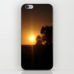 Sunset Inclusion iPhone & iPod Skin by Moonshine Paradise #society6 #sunset #sun #nature #phoneskins