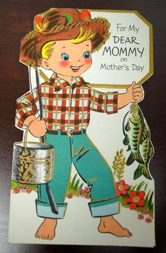 Mother's Day Card  Vintage
