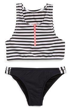 Seafolly Tropical Splice Two-Piece Tankini Swimsuit (Little Girls Big Girls)