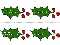 Deck the Halls powerpoint that practices tom-ti.  Includes slides for solfa, flashcards and a song-mix-up assessment activity.