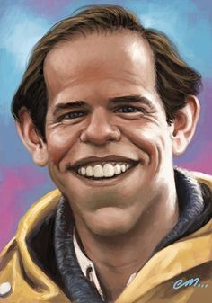 Paper, Pencil, Pixels: Charles Martin Smith Caricature