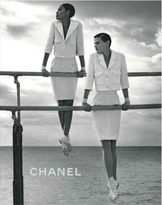 Chanel. I'll forgive the fact that they have women on men's gymnastics equipment...