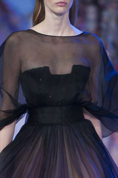 Elie Saab at Couture Spring 2014 - Details Runway Photos