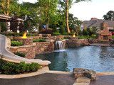 International TV Sensation (HGTV, Travel Channel) - tropical - pool - phoenix - by Red Rock Pools and Spas and Red Rock Contractors