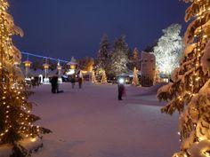 La Ciudad de la navidad en Finlandia. conoce más lugares exoticos po visitar en estas festividades http://cupon.com.co/revista/mejores-destinos-para-navidad/