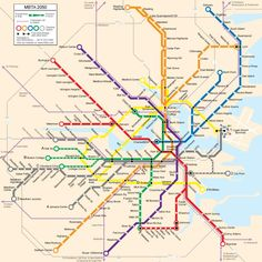 2050 Future MTBA System Map