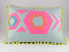 A potential diy ..Geometric print ' Mex Tex' hand screen printed by Tutulitsa, £52.00