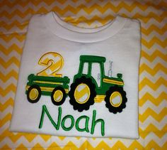 Hey, I found this really awesome Etsy listing at http://www.etsy.com/listing/156420576/tractor-birthday-john-deere