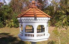 DIY : bird feeder, bird house gazebo, mini gazebo bird feeder