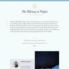Fonts Used: Sorts Mill Goudy and Montserrat · Typewolf Typography Inspiration Typography Inspiration, Design Inspiration, Montserrat Font, Layout Design, Web Design, Font Combinations, Graphic, Colorado, Desktop