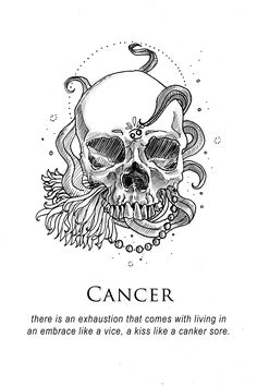 Heart Taurus and Cancer Zodiac Tattoos for Men Cancer Sign Tattoos, Horoscope Tattoos, Zodiac Sign Tattoos, My Zodiac Sign, Symbol Tattoos, Skull Tattoos, Taurus And Cancer, Cancer Horoscope, Cancer Zodiac Art