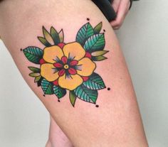 My fourth tattoo. I've always been in love with the...