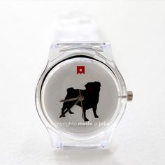 Mochi & Jolie® Pug Watch