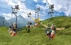Switzerland Zip Ride! Can't wait! :)