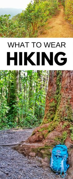 Hiking tips for beginners, what to wear hiking! Gear list of clothes for day hike, backpacking. - Hiking tips for beginners, what to wear hiking! Gear list of clothes for day hike, backpacking. Joyce D. Hiking Gear List, Hiking Checklist, Road Trip Essentials, Hiking Tips, Camping And Hiking, Camping Hacks, Camping Gear, Backpacking Tips, Hiking Wear