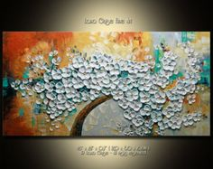 Another Sun Large Original Abstract от CreativePaletteKnife