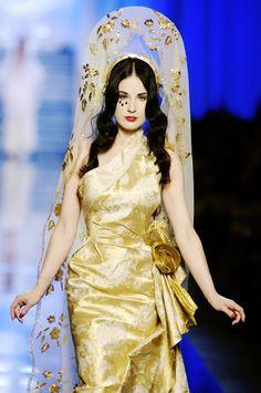 "dailyactress: ""  Jean Paul Gaultier Parigi - Haute Couture Spring Summer 2007 """