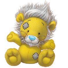 My Blue Nose Friends - Tatty Teddy Bear Clip Art