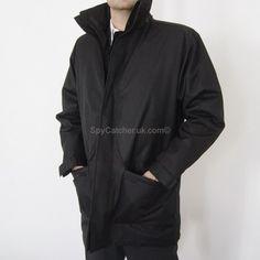 Spycatcher weatherproof, bullet, and stab proof jacket