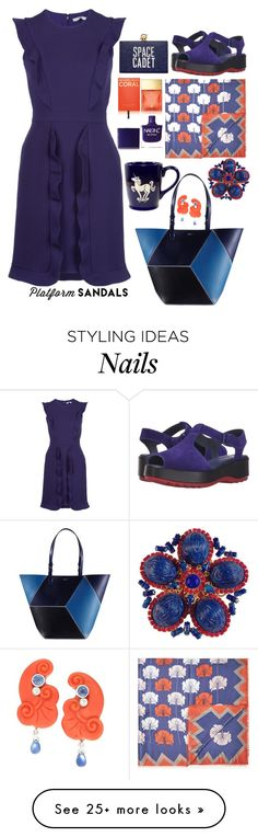 """""""Untitled #1072"""" by sunnydays4everkh on Polyvore featuring Max&Co., Fendi, Camper, Michael Kors, Nails Inc. and Kate Spade"""