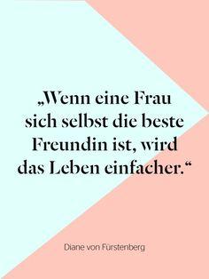 Diane von Fürstenberg ist eine echte Powerfrau und super inspiriend.