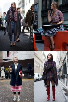 The Sartorialist  If You're Thinking About….Transitional Plaid
