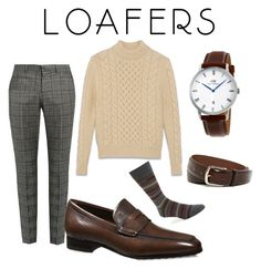 """Loafers"" by menstyletoday ❤ liked on Polyvore featuring Gucci, Yves Saint Laurent, Tod's, Daniel Wellington, BOSS Hugo Boss, Trafalgar, men's fashion, menswear and loafers"