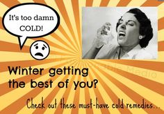 Cold Season Is Here! Stock up on this...