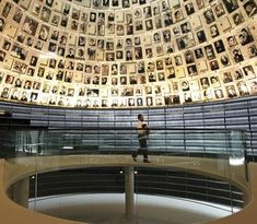 The Yad Vashem Holocaust History Museum in Jerusalem, designed by Moshe Safdie, was centered around the Hall of Names, dedicated to the memory of the six million Jews killed by the Nazis in World War II.