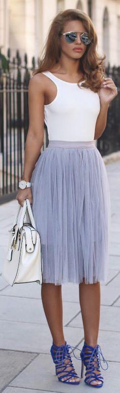 POWDER BLUE / Fashion By Nada Adelle