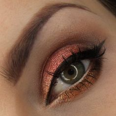 'Sunny Days' Idea Gallery look by the lovely Dzastina252 using Makeup Geek's Bewitched, Birthday Wish and Vegas Lights pigments!