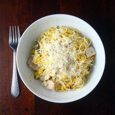 Kitchen Trial and Error: sweet corn pasta