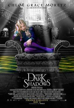 Chloe Grace Moretz looking Alice In Wonder for Tim Burton's Dark Shadows movie