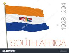 south africa old flag Countries And Flags, Countries Of The World, South African Flag, Old Symbols, Flag Signs, Flags Of The World, Africa Fashion, Coat Of Arms, Fun Facts