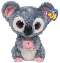 Ty Beanie Boos-Kooky the Koala! Big Eyed Stuffed Animals, Big Eyed Animals, Ty Animals, Ty Beanie Boos, Peluche Lion, Rare Beanie Babies, The Wombats, Ty Babies, Ty Toys