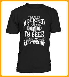 Im Not Addicted To Beer Relationship - Shirts für onkel (*Partner-Link)