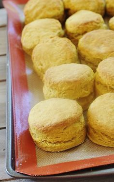 Pumpkin Pie Biscuits have all the flavor of pumpkin pie rolled into a tender flaky buttermilk biscuit.