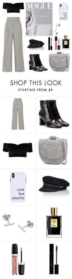 """""""G R E Y"""" by reyhannalee on Polyvore featuring Casasola, Yves Saint Laurent, Boohoo, Theory, Lola, Myia Bonner, Kilian, Marc Jacobs and Gucci"""