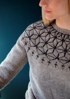Ravelry: Tensho Pullover (Artist) pattern by Beatrice Perron Dahlen