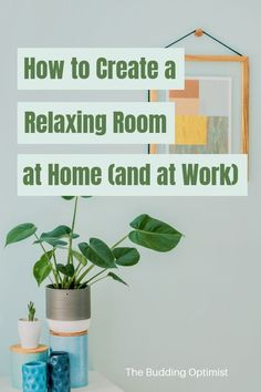 11 simple and affordable ways to turn any room in your house and at work into a calming space. Take Care Of Yourself, Improve Yourself, Create Yourself, Anxiety Relief, Stress Relief, Self Development, Personal Development, Relaxation Room, Relax Room
