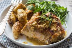 Une recette facile et rapide pour préparer un délicieux lapin à la moutarde