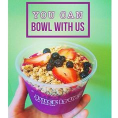 You can sit with us and you can bowl with us. Mean Girls (and nice girls) love Pitaya Bowls from Juice It Up! Especially on Wednesdays!